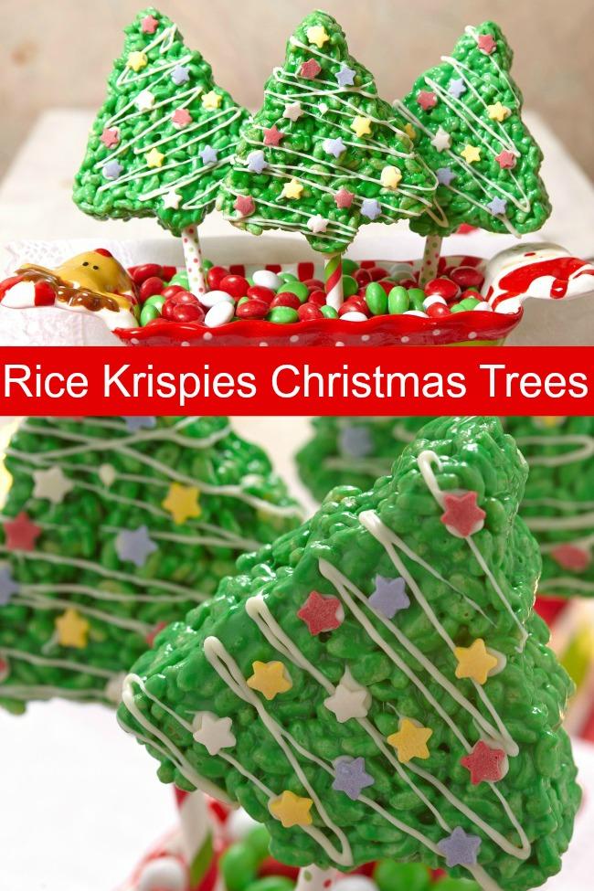 Rice Krispies Christmas Trees