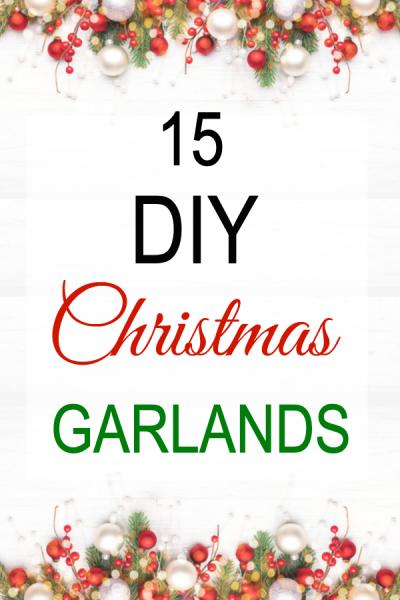 diy Christmas garlands