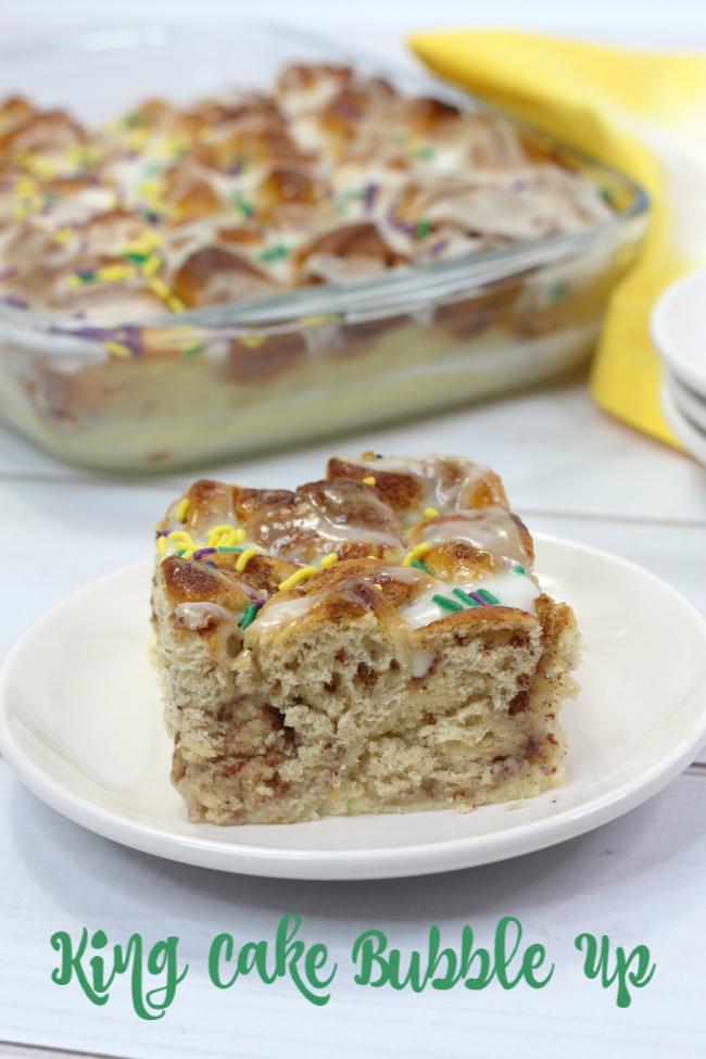King Cake Bubble Up recipe