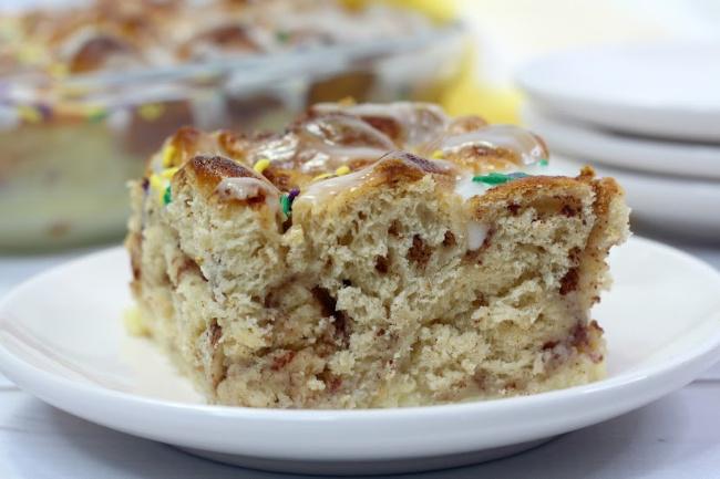 tasty king cake bubble up