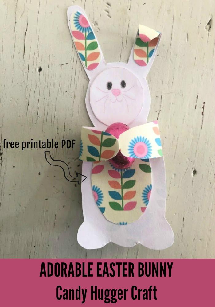 easter bunny candy hugger