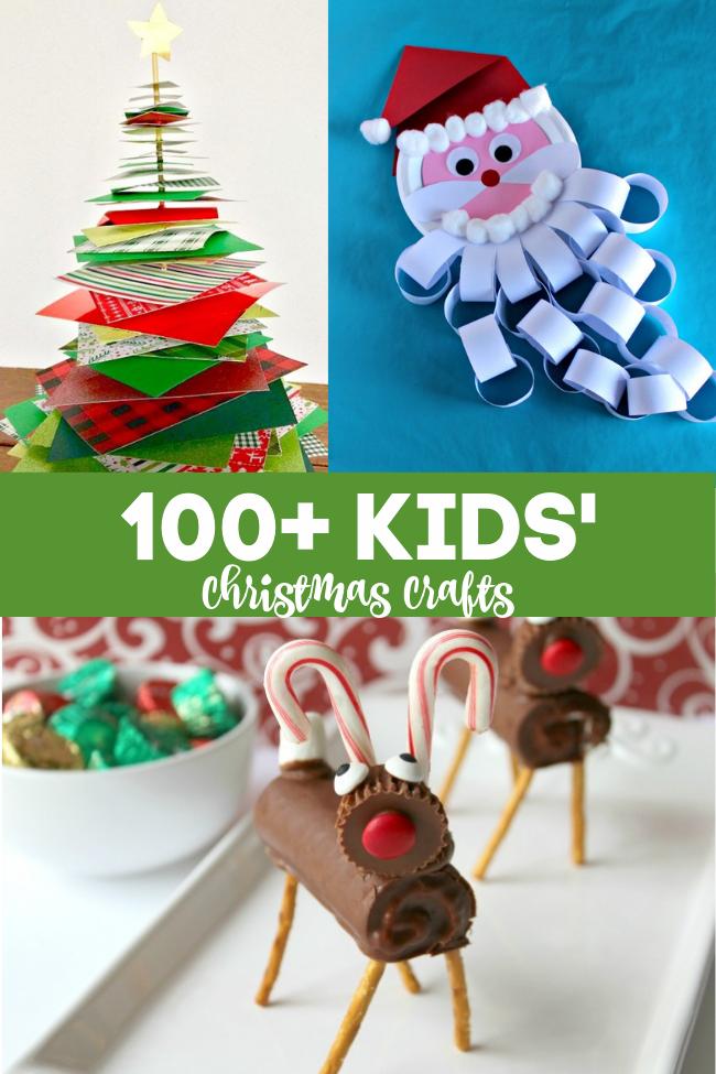 100+ kids christmas crafts