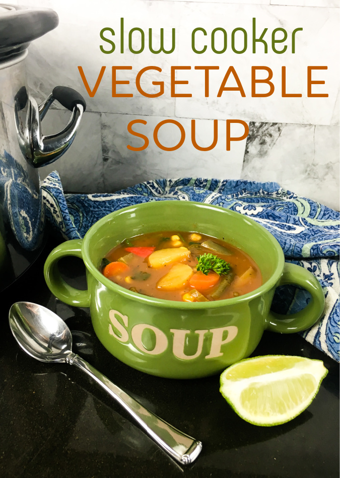 crock pot vegan vegetable soup