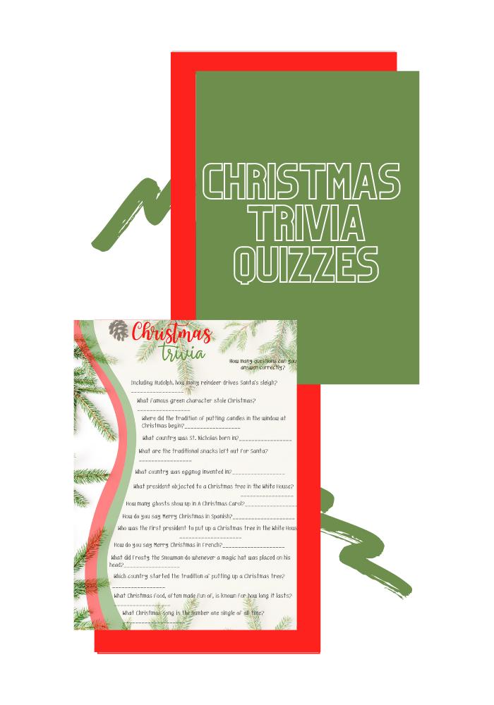 Christmas Trivia Quizzes