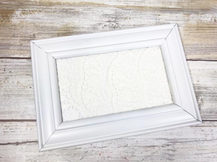 put backings back into frames