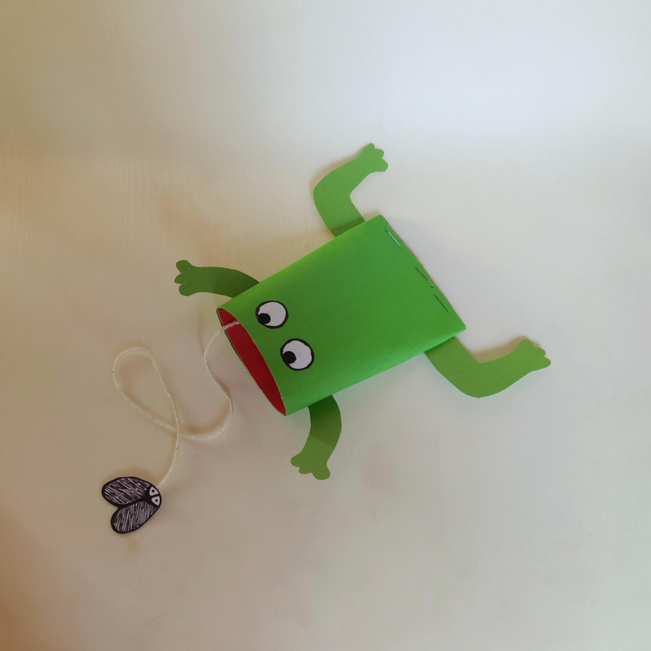eating frog craft