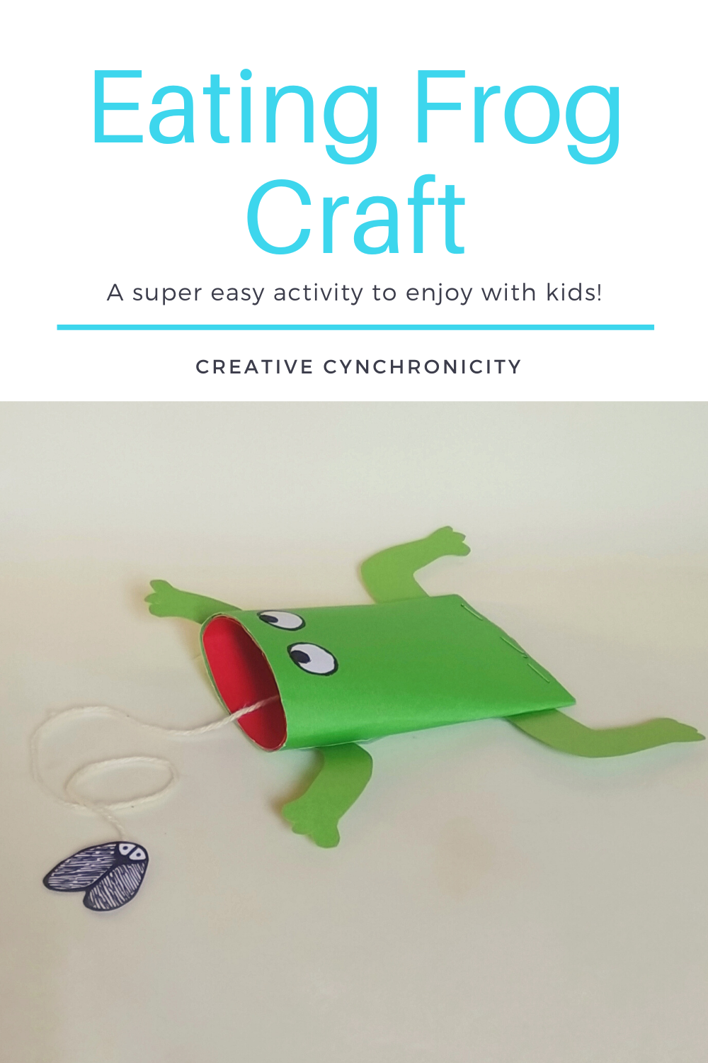 Eating Frog Craft: A super easy activity to enjoy with kids!